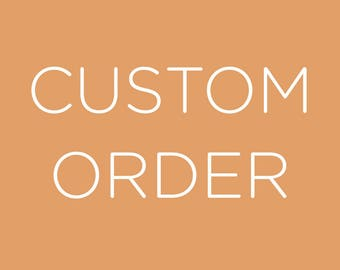 Custom Jenga Order for Karen