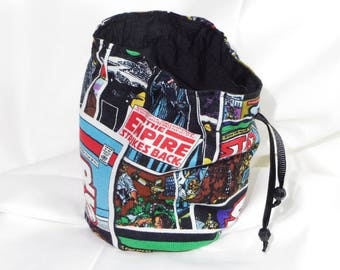 Retro Star Wars Comic Dice Bag