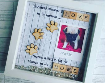 Pet Gift, Dog Frame, Granddog Gift, Doggy Decor, Doggy Gifts, Gifts For Dog Lovers, Present For Dog, Canine Gifts, Mans best Friend.