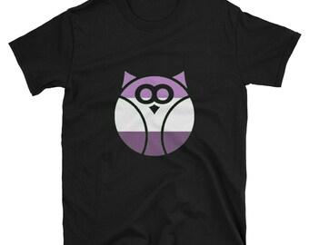 Queer Pride Owl Unisex T-Shirt lgbtq lgbt lgbtqipa queer gay transgender mogai