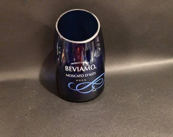 Huge 1.5 Liter HANDCRAFTED Candle UP-CYCLED Beviamo Moscato D'asti  Italy Wine Bottle Soy Candle. Made To Order !!!!!!!
