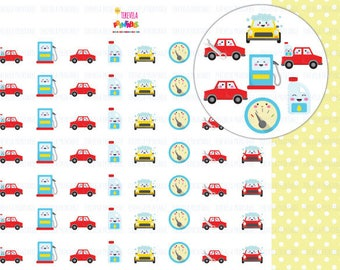 60% OFF Kawaii CAR planner stickers, car care stickers, car wash/oil change/gas printable stickers, planner stickers, printable stickers