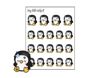 Planner Stickers Penguin Ouch