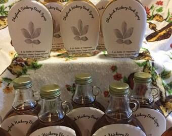 Shagbark Hickory Bark Syrup