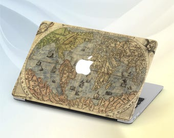 World Map case Macbook Air 13 Hard case Macbook Pro 13 World case Macbook Pro Map case Macbook 15 inch Laptop case Macbook 13 Retina Slevee