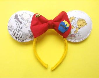 Winnie the Pooh Ears | Mickey Ears | Mouse Ears | Minnie Ears | Eeyore | Piglet | Pooh | Tigger |