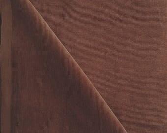 Brown corduroy