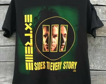 Vintage extreme sides to every story promo shirt 90s