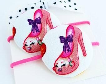 shopkins shoes hair elastics hair ties for little girls hair accessories