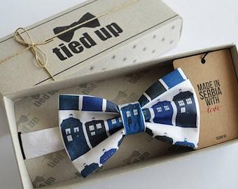 Tardis Bow Tie, bowtie, Bowtie  .Wedding Bow tie. Bow tie,Bowties,Bow tie for men,Bow tie for women,Bow tie for kids.