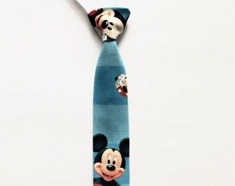 Mickey Mouse Tie Handmade