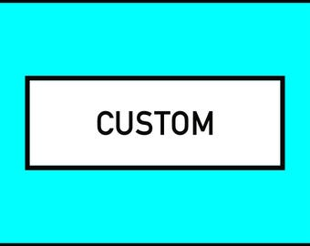 Custom 1.25 in Buttons