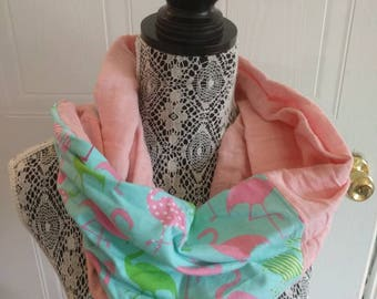 Scarf infinity flamman pink