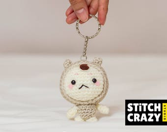Crochet Boglegel Doll Keyring, Korean drama Goblin, Mr Buckwheat, kdrama Goblin Guardian: The Lonely and Great God 쓸쓸하고 찬란하神, Dokkaebi