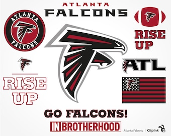 Atlanta Falcons svg, Atlanta svg, Falcons clipart, Atlanta clipart, digital files – svg, eps, png, dxf, pdf. Decor Cut Print Mug Shirt Decal
