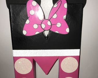 Minnie Mouse Letter 12in *price per letter*