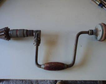 Vintage Hand Crank Drill