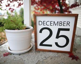 December 25 - Sign