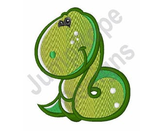 Baby Snake - Machine Embroidery Design