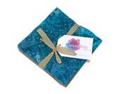 "Batik Charm Pack 5"" Fabric Squares, Pre-cut Quilting Fabric, Batik Fabric Squares, Boundless Fabric Collection"