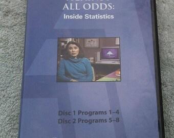 Against All Odds: Inside Statistics, complete 7 dvd set