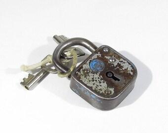 vintage Padlocks Key Lock ABUS