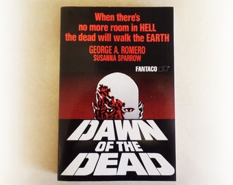 Susanna Sparrow - Dawn of the Dead - George A Romero Fantaco horror occult vintage paperback book - 1989