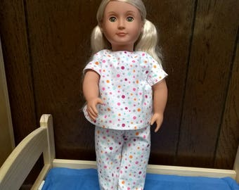 """18"""" Doll Pajamas"""