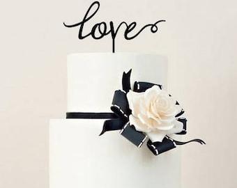 Cake Topper 'Love'