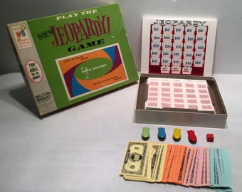 1964 Jeopardy Game Fifth Edition by Milton Bradley Complete in Great Condition FREE SHIPPING
