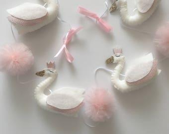 Ballet swan garland