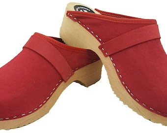 Original of Sweden clogs suede Red