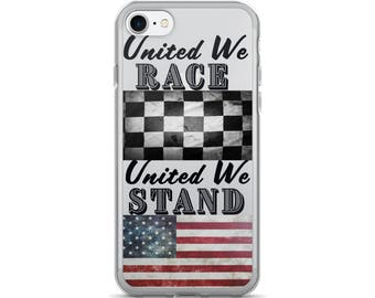 United We Race United We Stand - iPhone 7/7 Plus Case