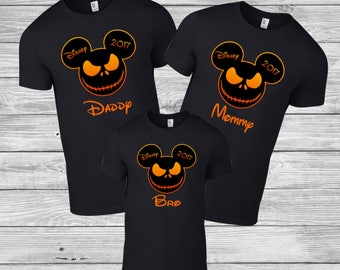 Disney Family Shirts, Matching Family Disney Halloween Shirts, Family Disney Shirts, Matching Disney Couple Shirts, Minnie Mickey Shirts Tee