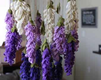 Purple Lavender Chandelier/ Mobile