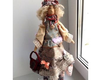 Tilda Doll Textele Doll Tilda Handmade Doll Rag Doll