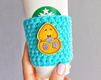 Platypus Cup Sleeve, Platypus Coffee Cozy, Platypus Gift