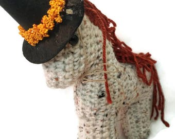 """Crochet Horse Fall Collection """"Frank"""""""