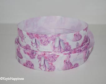 "Ballet Slippers 1"" Grosgrain Ribbon 964 By the Yard"