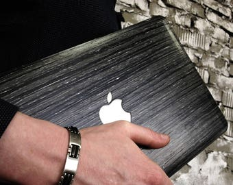 """Real Wood Case for Macbook 12"""" (wooden case, protective skin, decal sticker, shell) - ABACHI WOOD MULTIBUSINESS"""