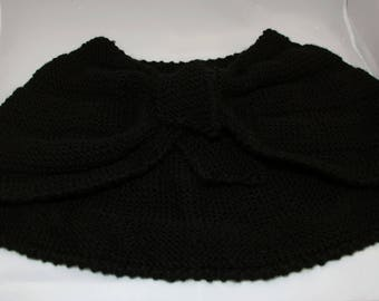 Knitted Wool Shawl
