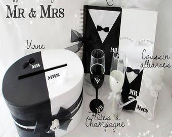 """Mr & Mrs"" wedding box"