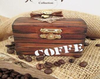 "Box holder, ""Coffee bean"""