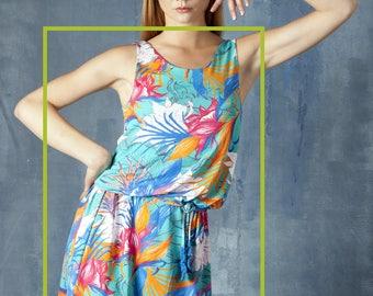 Dress Tropical FLORA VERDE