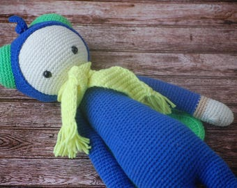 Lalylala Buzz/ Lalylala doll / Crochet toys / Stuffed animals / Crochet mosquito/ Handmade toys / Stuffed dolls/ gift for kids