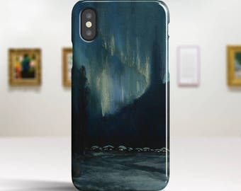 "Sydney Laurence, ""The Northern Lights"". iPhone X Case Art iPhone 8 Case iPhone 7 Plus Case and more. iPhone X TOUGH cases. Art iphone cases."