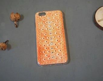 Cookies iPhone 6s case, Foodie iPhone 6 case, iPhone 6 cover, Cute iPhone 6 case, cookies iphone 6 case