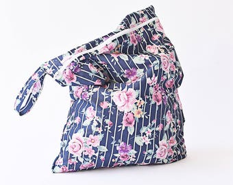 Medium Travel Wet Bag, Wet Bag, Waterproof Bag, Pool bag, Bulto impermeable, cloth diapers wet bag, bulto para pañales