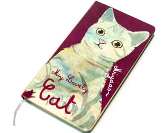 Diary My Lovely Sitting Cat | Cat Diary | Cat Planner | Kawaii