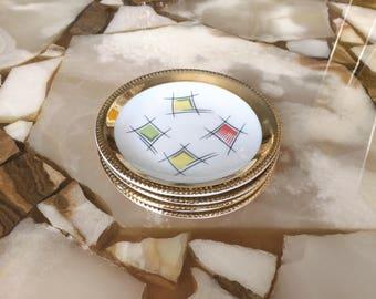 50s Rockabilly platters/50s Mini plates set